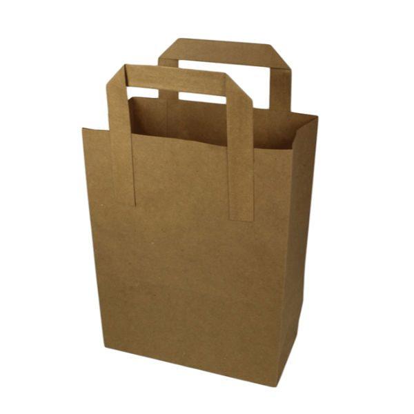 small kraft bag