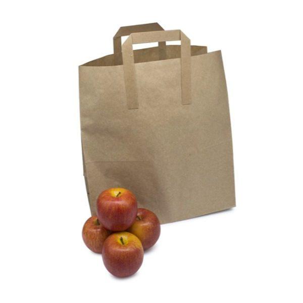 large brown paper bag
