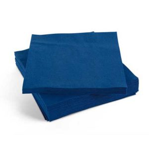 blue dinner napkins