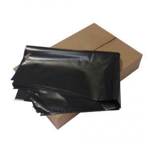 Large Heavy Duty Black Bin Bags