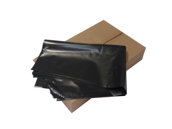 Large Heavy Duty Black Bin Bags