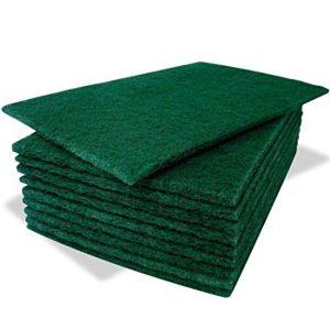 green scourer cloths