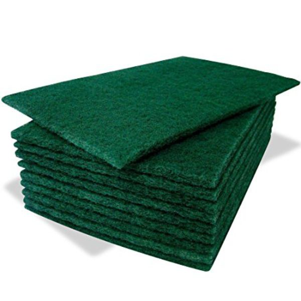 green scourer cloths