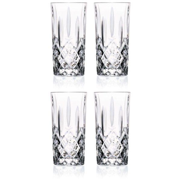 Crystal HiBall Glasses 396ml - Set of 4
