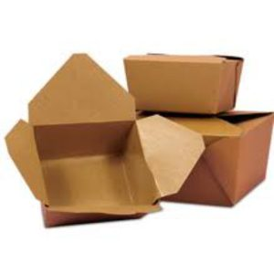#1 Small Kraft Food Boxes