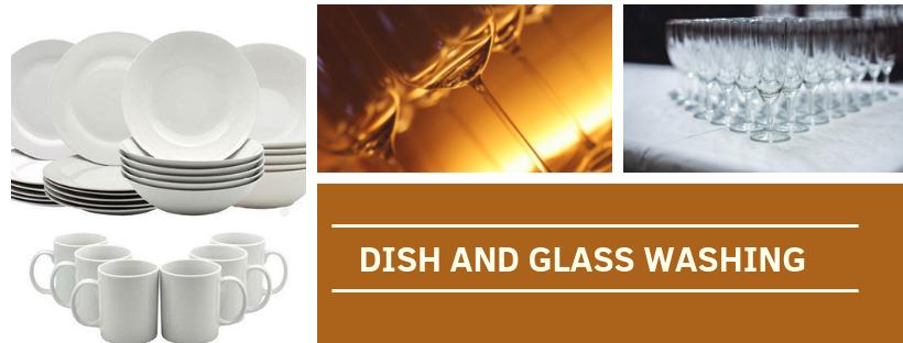 Dish and Glass Washing