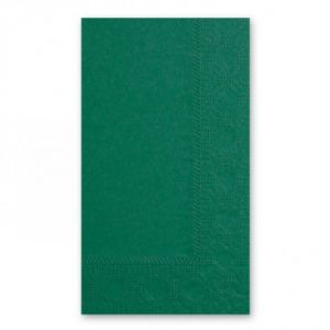 green lunch napkins 8 fold