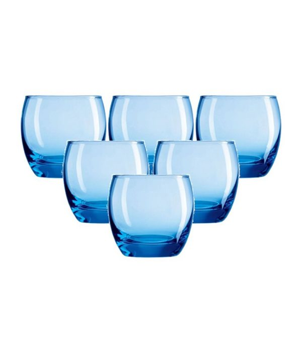 Arcoroc Salto Ice Blue Tumblers