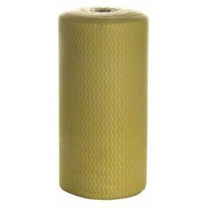 Yellow Wipes on Roll