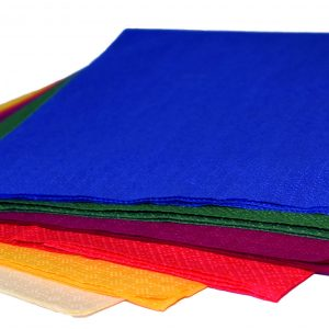 coloured dinner napkins