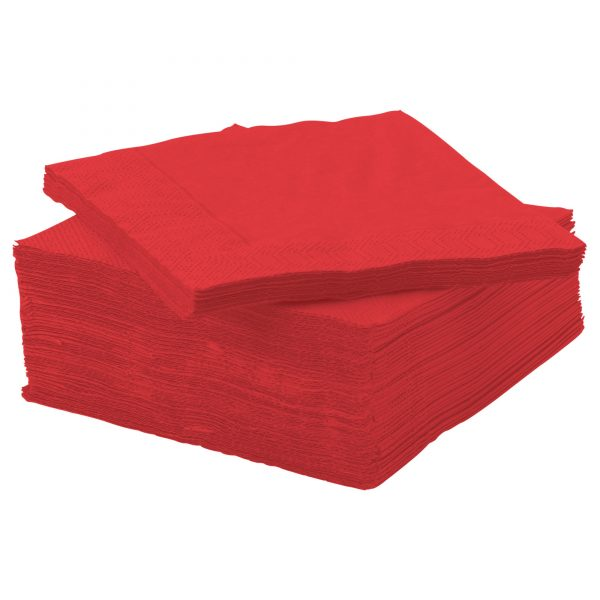 Red Napkins