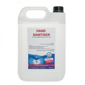 alcohol hand gel 5l