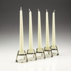 Bistro Tapered Candles 10' Ivory (100)