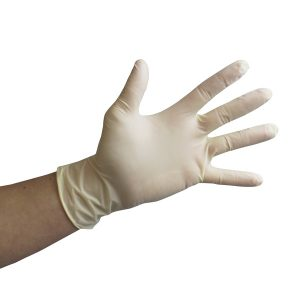 Powder-Free Latex Gloves White