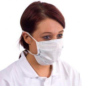 Non Woven Face Masks White