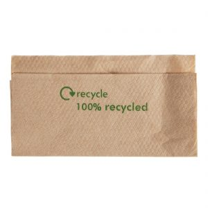 Compostable Kraft Lunch Napkins