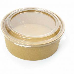 Kraft Round Bowls 1300 ml (300)