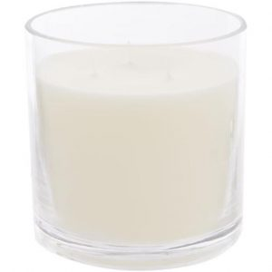 Vanilla Large Glass Candle 3-Wick