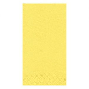yellow dinner napkins 8 fold
