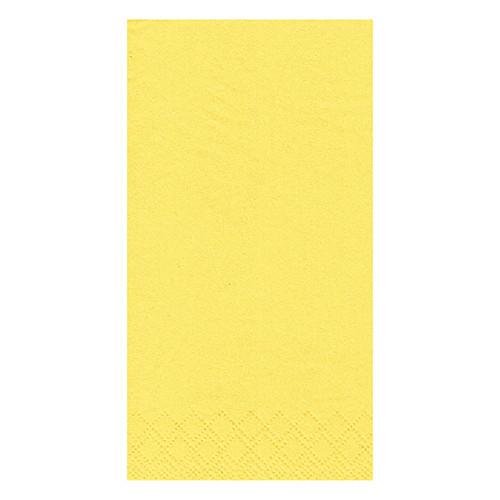 yellow dinner napkins 8 fold
