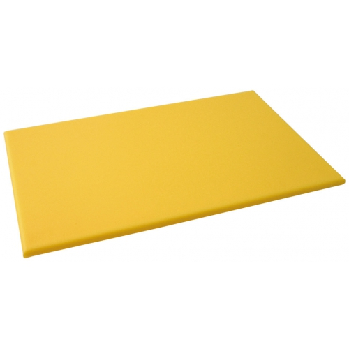 High Density yellow Chopping Board