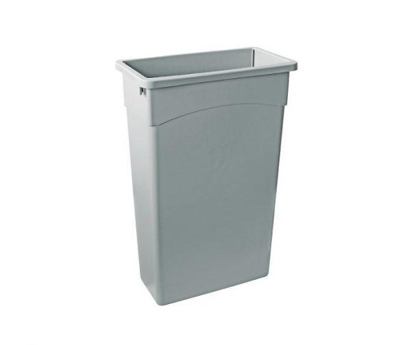 Slim Bin Liner 90 l Grey