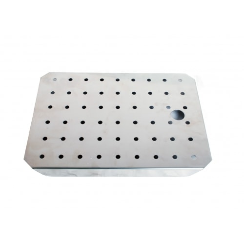 Stainless Steel Drainer Plate 1/2