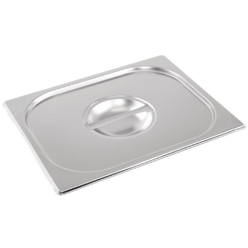 Stainless steel Gastronorm Pan 1/3 Size Lid Notched