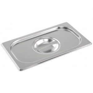 Stainless steel Gastronorm Pan 1/4 Size Lid