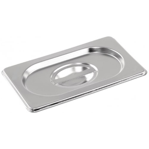 Stainless steel Gastronorm Pan 1/9 Size Lid