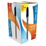 Papermate Inkjoy 100 Capped Medium Black Tuck (Pack of 50)