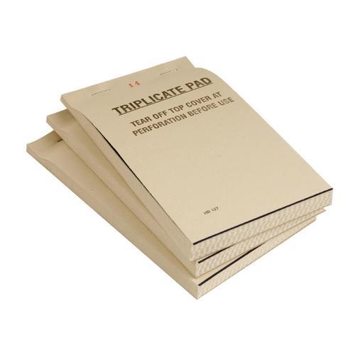 Triplicate Order Pads
